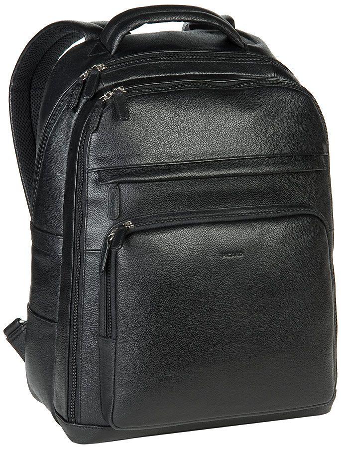 Taschenkaufhaus Picard Luis Notebook Rucksack Schwarz (innen: Schwarz mit Logo) - Laptoprucksack: Category: Taschen & Koffer >…%#Taschen%