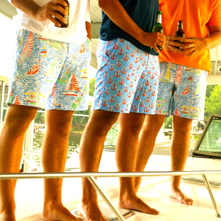 Lilly Pulitzer Summer '13- Fitz Short in Get Nauti and Anchors Away
