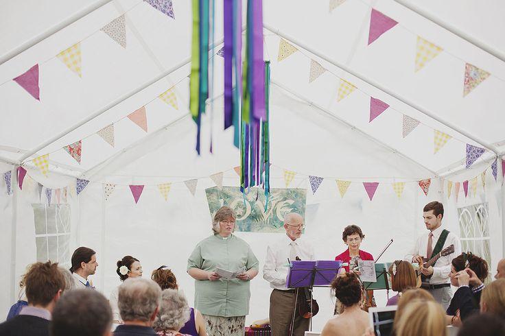 Creative wedding photography // Peak District wedding // DIY wedding // Wedding ceremony // By Inta Photography // http://intaphotography.com