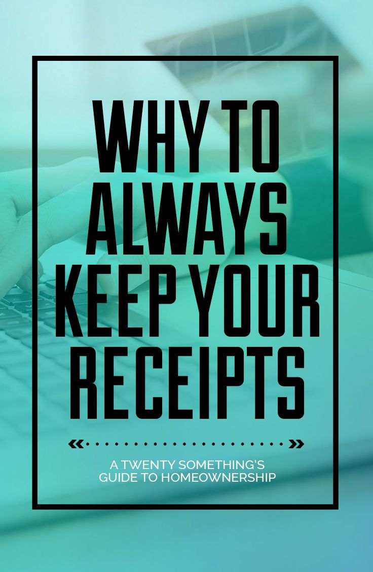 Always keep your receipts! 9 Reasons you may not have thought of why you should always keep your receipts.