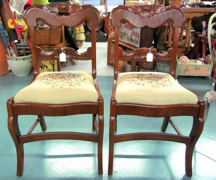 Company Furniture: Davis Cabinet Co, Lillian Russell, Cherry Wood Heart