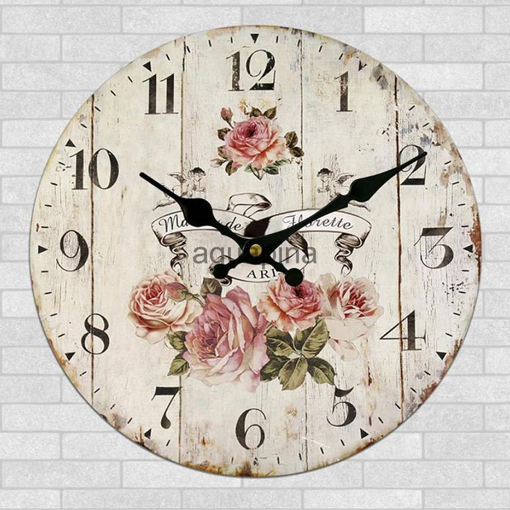 Home Decor Wall Clock Retro Round Wood Shabby Chic Art Works Peony Flowers FOR SALE • CAD $20.44 • See Photos! Money Back Guarantee. About us Shipping Payment Returns Contact us Store Categories Store home Business & Industrial Cameras & Camcorders Car Vehicle Accessories Cell Phones & Accessories Computer & Networking Consumer Electronics Crafts 262579861799