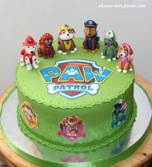 "Торт ""Щенячий патруль"", 3,9кг"