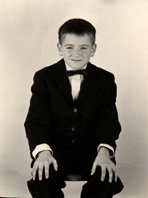 Robbin Williams as a kid