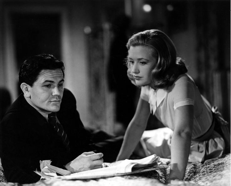 John Garfield and Priscilla Lane - FOUR DAUGHTERS