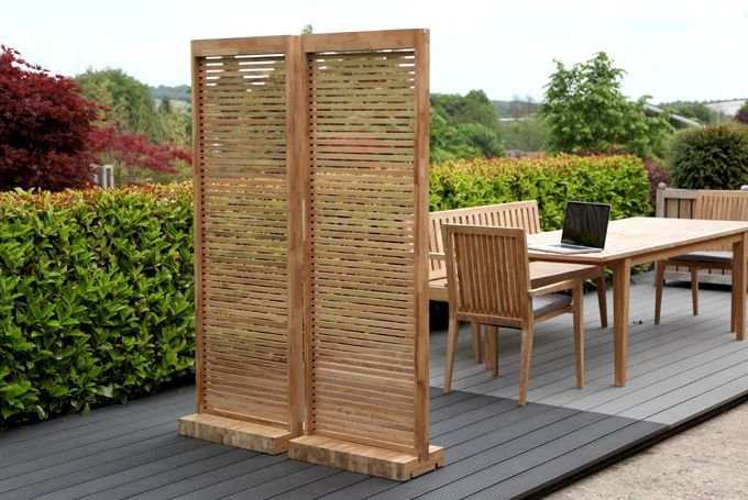 New garden screens to create distinct spaces and offer for Creating privacy on patio