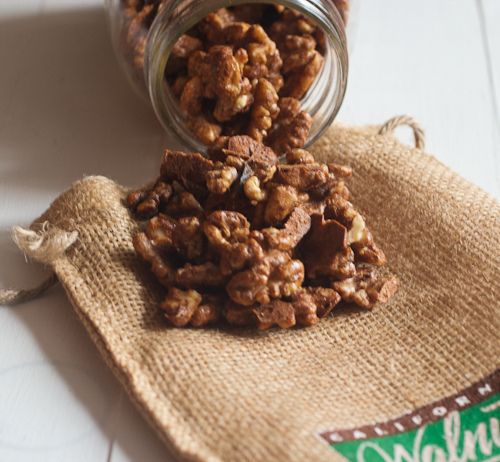 Sweet and Spicy Candied Walnuts | cindy's board | Pinterest