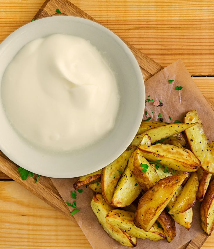 Sour cream can be it's own dip or topping, but it also makes a great base for many other dips and sauces. Why not try a version that gives your gut a little boost too!
