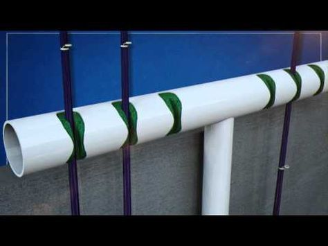 Lance Guidry | Transportable Fishing Rod Holder - YouTube