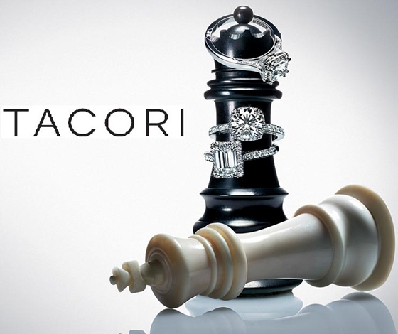 I love Tacori ads. They are clever, beautiful and always tell a story in a symbolic way.