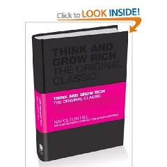 Think and Grow Rich by Napoleon Hill, Hardback Edition. This book is well worth a read!