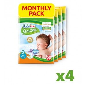 Πάνες Babylino Sensitive Monthly