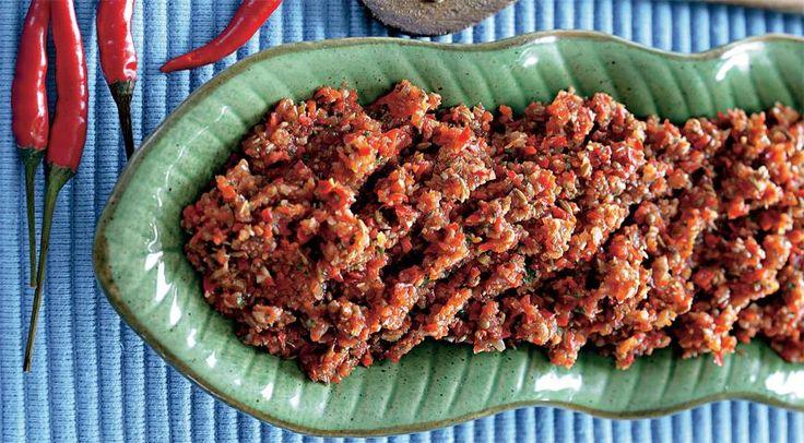 Соусы Тайская красная паста карри