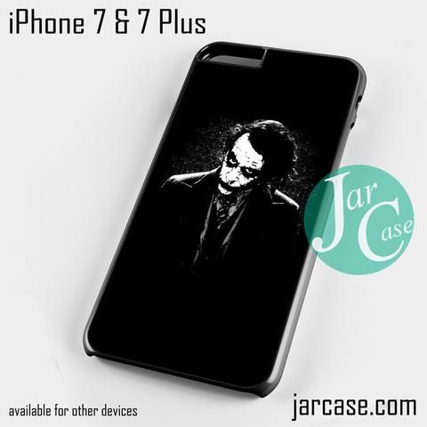 Joker Black Phone case for iPhone 7 and 7 Plus