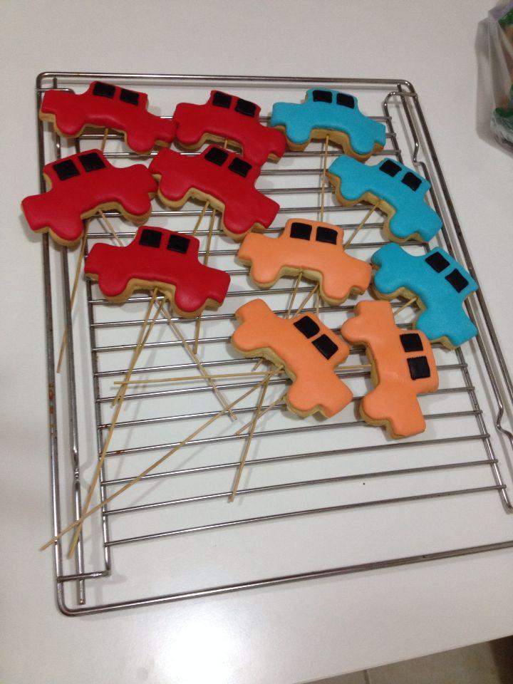 Şeker hamuru kurabiyelerim