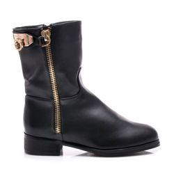 BLACK BOOTS https://cosmopolitus.eu/product-pol-41566-BLACK-BOOTS-X679B-S3-96P.html #buty #jesienne #workery #botki #tanie #modne #stylowe #zamek