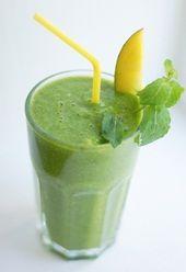 Grønn papayasmoothie - Grønn Smoothie