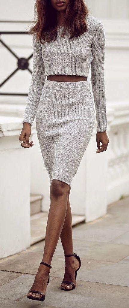 A skirt set Kim K. would envy.