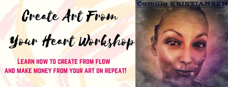 NEW kick-ass program to get activated to create art on repeat and make money from flow!
