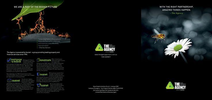 The Agency Brochure (outside spread)