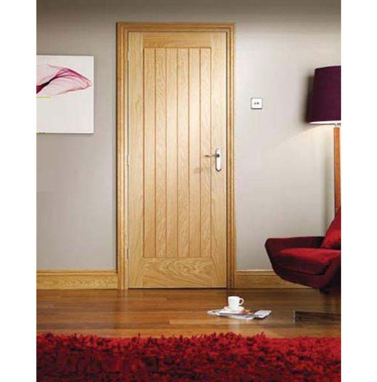 Buy Suffolk Interior Oak Door Untreated From Emerald Doors UK At Affordable  Rates.
