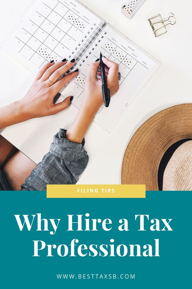 Tax professionals not only understand the tax system but the