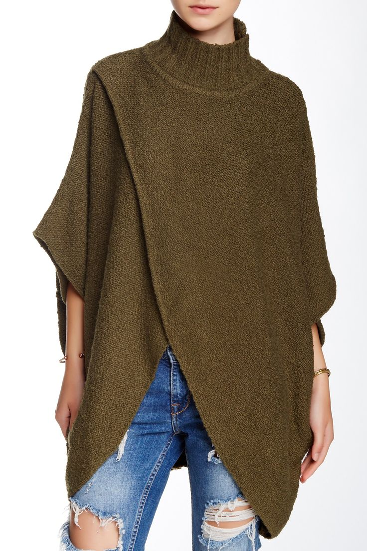 Free People | All Wrapped Up Poncho | Nordstrom Rack Sponsored by Nordstrom Rack.