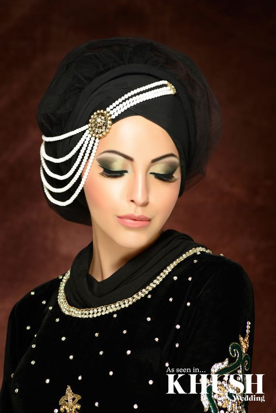makeup ideas for party with hijab (8)