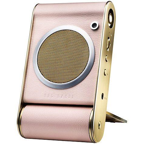 Buy Ted Baker Fastnet Bluetooth Speaker Online at johnlewis.com