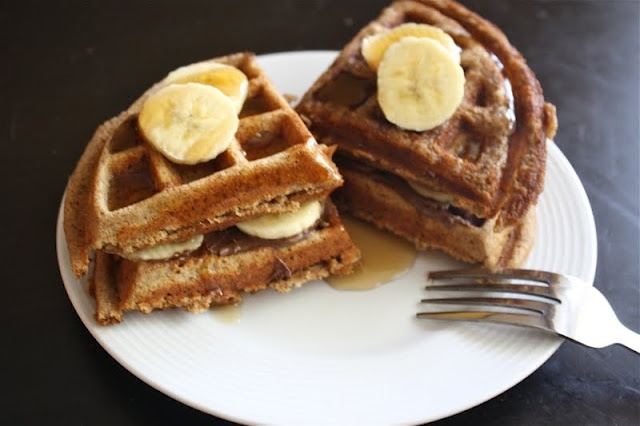 Cinnamon and brown sugar protein waffles. Need to make for little girl ...