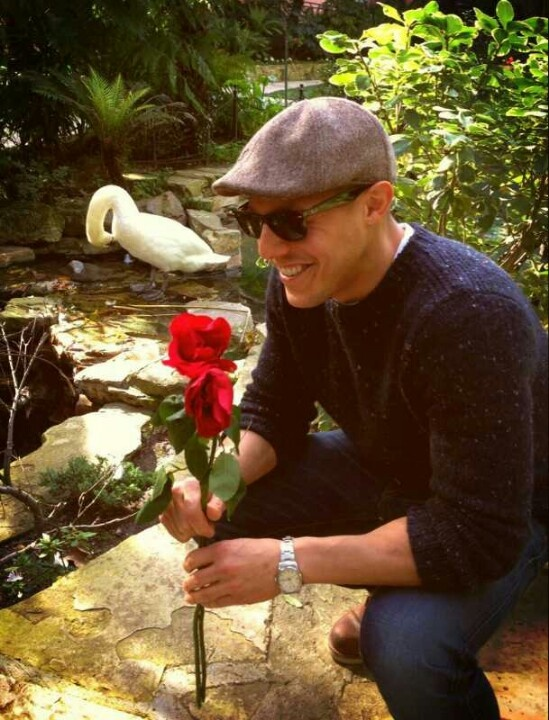 Theo Rossi..... I do accept that rose.....