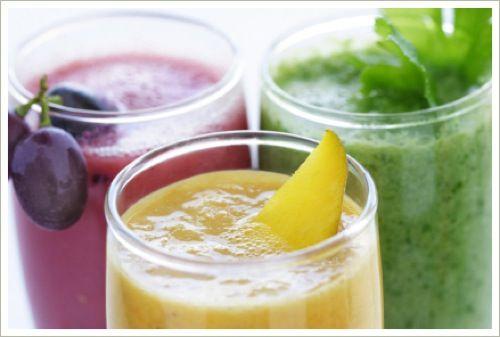 groente- en fruitshakes