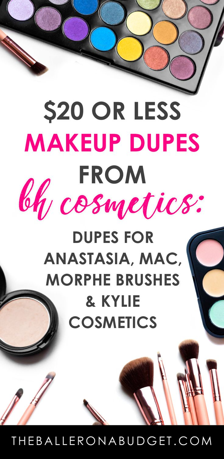 Looking for affordable makeup that compares to big brands like Anastasia, Kylie Cosmetics and MAC? My BH Cosmetics favorites are makeup dupes all under $20. - www.theballeronabudget.com