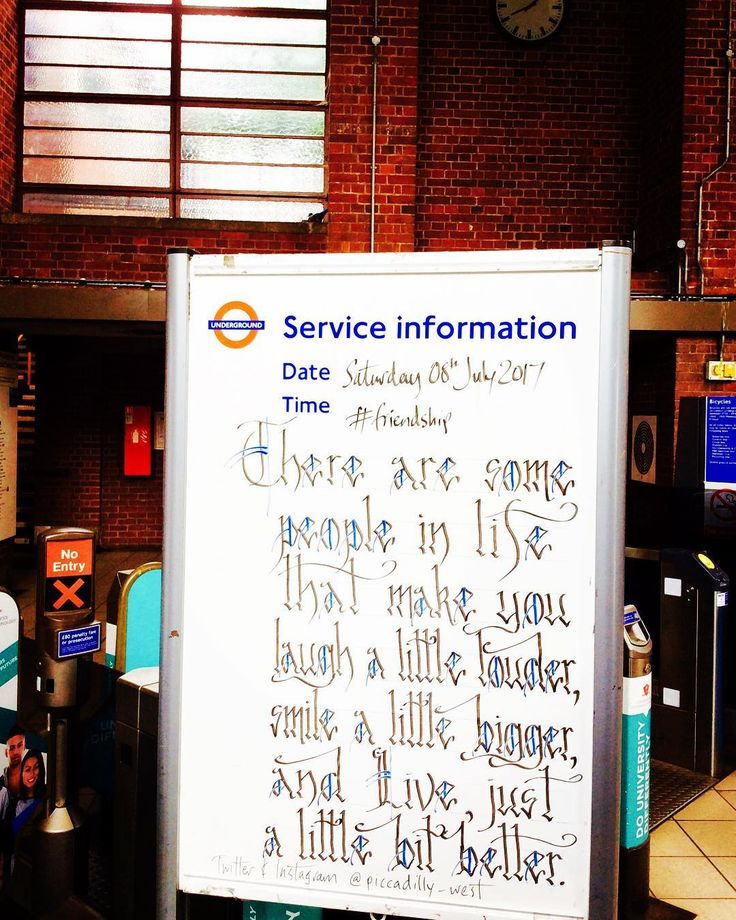 """105 Likes, 46 Comments - This Is Not A LU/TfL Account. (@piccadilly_west) on Instagram: """"""""There are some people in life that make you laugh a little louder, smile a little bigger and Live…"""""""
