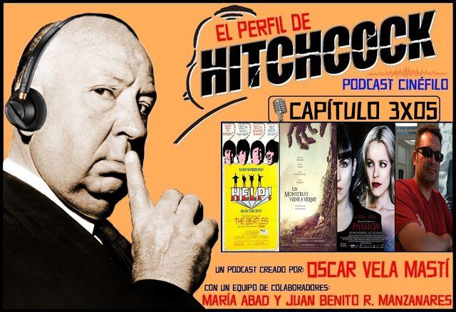 """De nuevo en las ondas cinéfilas, con el podcast 3x05 de """"El Perfil de Hitchcock"""", en el que reseñamos la última de J.A. Bayona """"Un monstruo viene a verme"""", la última de Brian De Palma """"Passion"""" y el clásico de los Beatles """"Help!""""; asimismo, tenemos el placer de entrevistar a Gustavo Leonel Mendoza, autor del libro """"De Narciso Ibáñez Menta a Narciso Ibáñez Serrador""""; y además repasamos la cartelera...  http://perfilhitchcock.blogspot.com.es/2016/10/programa-3x05-un-monstruo-viene-verme.html"""