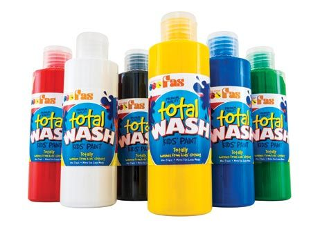 This no fuss kids poster paint will wash out of almost any fabric, making it perfect for art & craft projects. Formulated to a premium quality this paint set is...