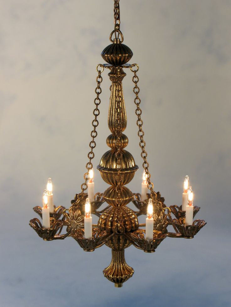 Short Metropolitan In Bronze A Graceful Majestic Chandelier That Is 1 Inch Shorter Than The