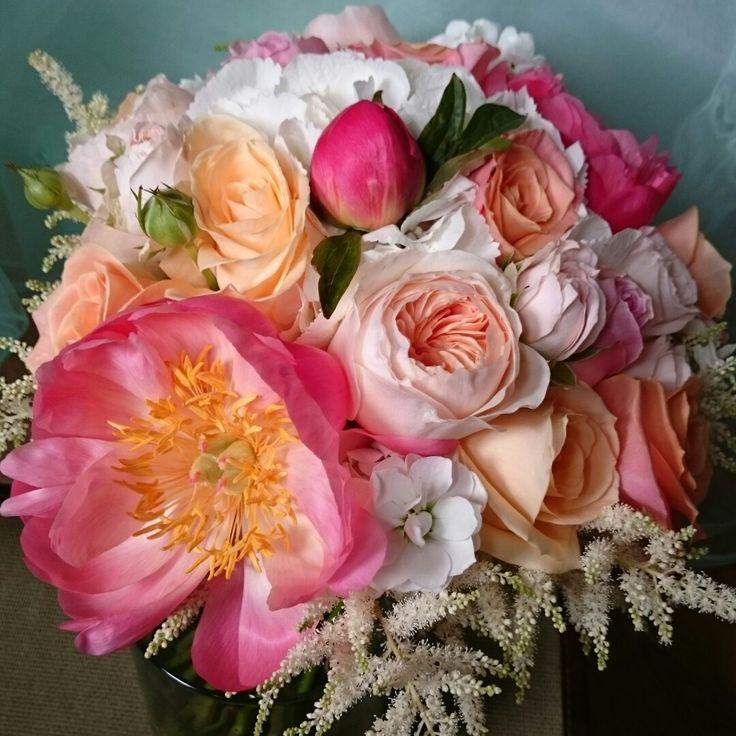 Scent Flowers Flowers 4 Flowers Wedding Pink Wedding Coral Pinks Peach