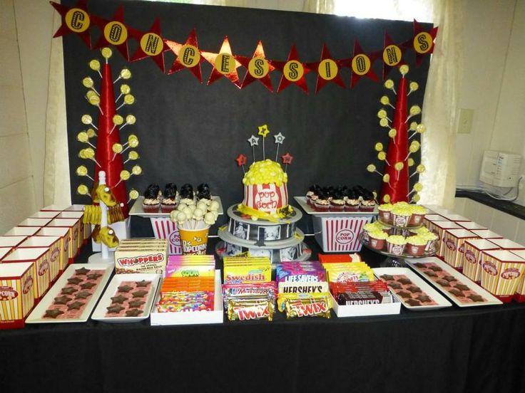 27 best images about movie theater party my 13th birthday party on pinterest movie nights - Th party theme ideas ...