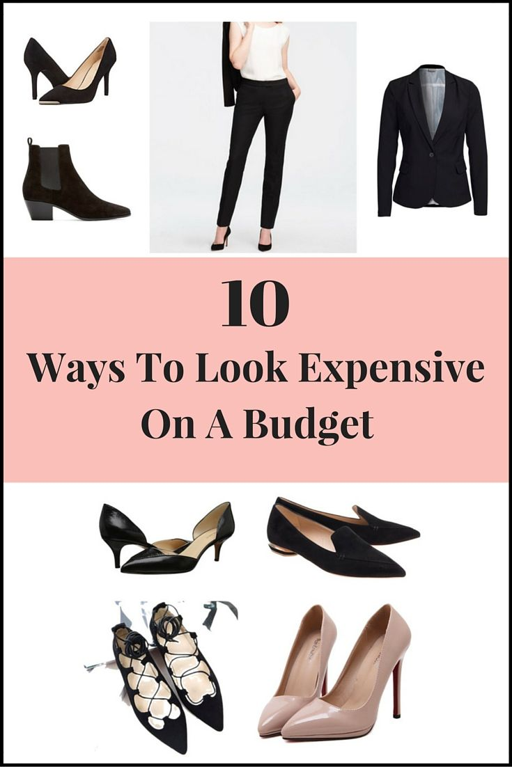 Do you want to dress like a million bucks, but think you can't because you're not rich?  You don't have to be rich to look expensive!  And, when you wear clothes that you love and fit well, you have confidence! Follow these tips to look expensive while on a budget: 1. Wear Black Black is…