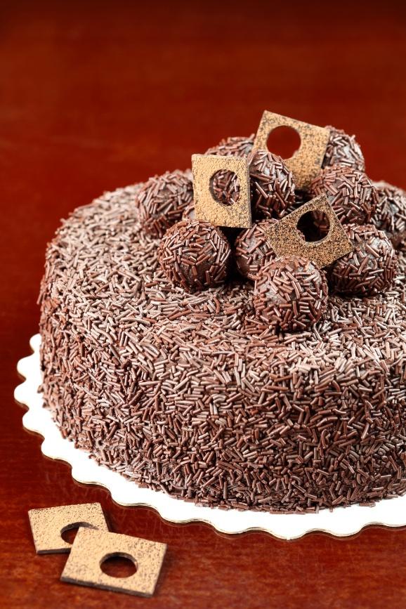 """Verdade de sabor: Brazilian cake """"Brigadeiro"""" / Bolo """"Brigadeiro"""""""