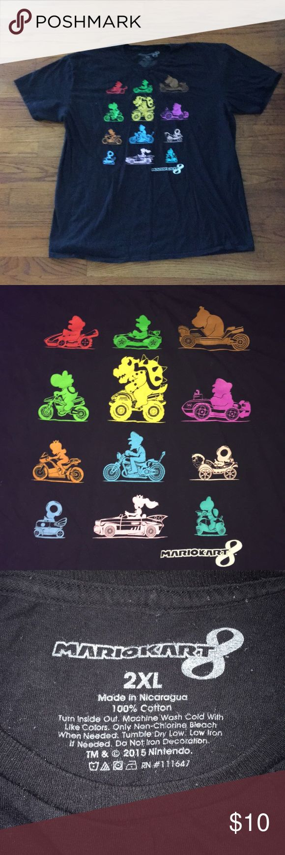 Nintendo Mario Kart 8 T-Shirt Awesome condition  Worn and washed a few times mario Shirts