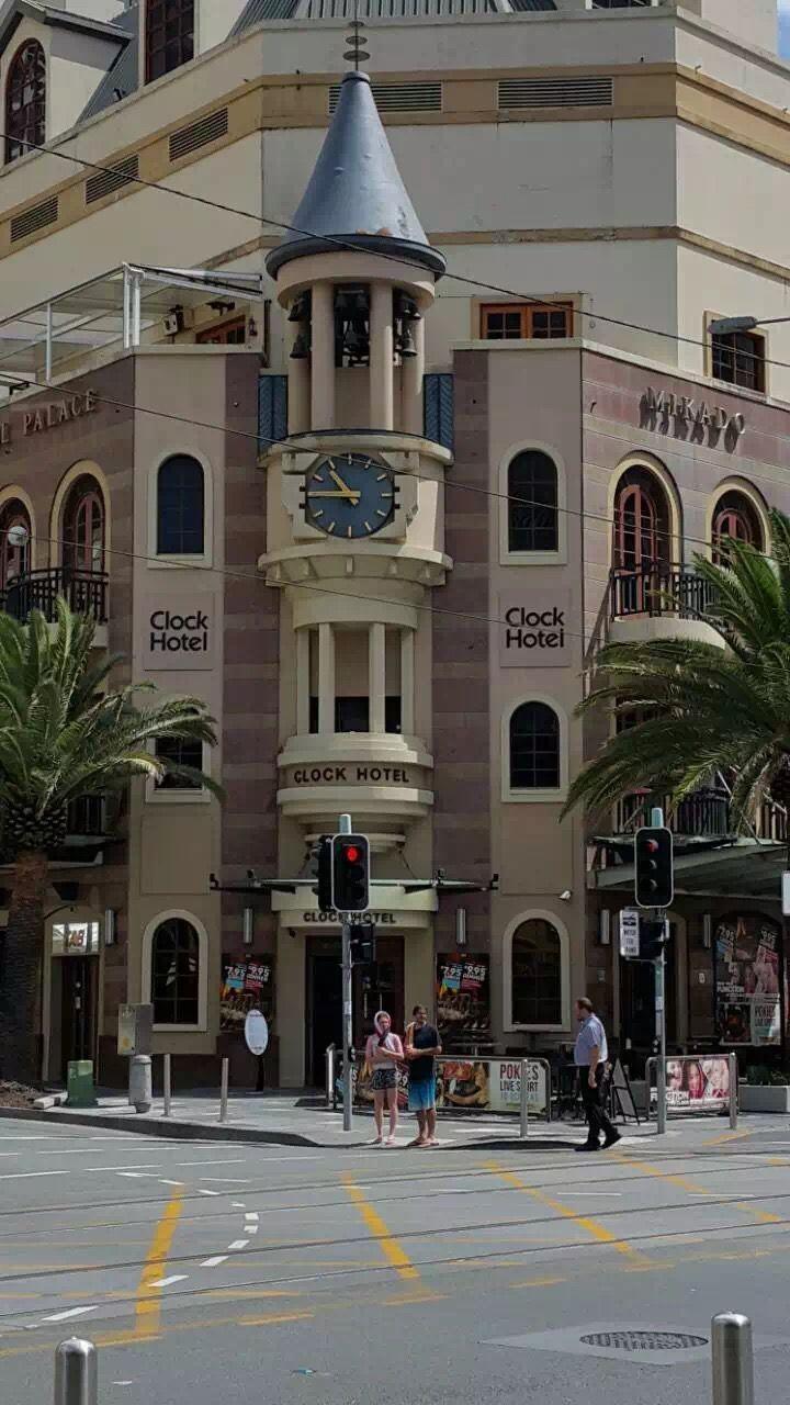The Clock Hotel in Surfers Paradise, Gold Coast, Australia
