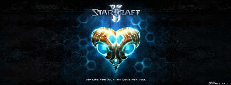 Starcraft Starcraft 2 Protoss Aiur Love Facebook Covers