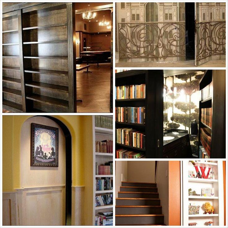 Тайная комната в доме и способы ее оформления - Дизайн квартир и красивые фото