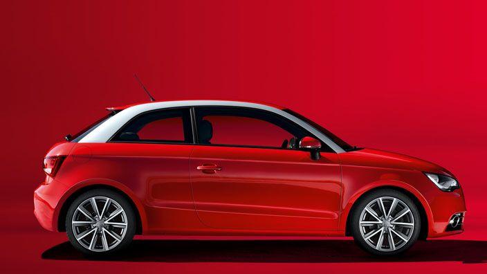 #AudiA1 #Audi #red