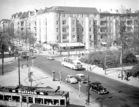 Der Bundesplatz 1950 (Kaiserplatz)