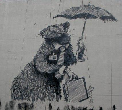 Bansky rats artist banksy pinterest bansky banksy for Banksy rat mural