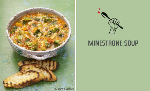 jamies minestrone soup