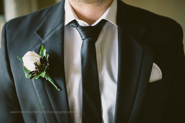 Mens Wedding Buttonhole Flower www.marcelvanderhorstphotographer.com